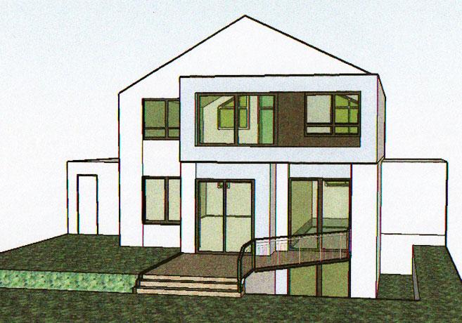 Heinz schnitzler architekt dipl ing for Architekt einfamilienhaus